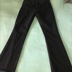 Tommy Hilfiger curve bootcut jeans size 6